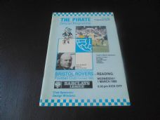 Bristol Rovers v Reading, 1988/89